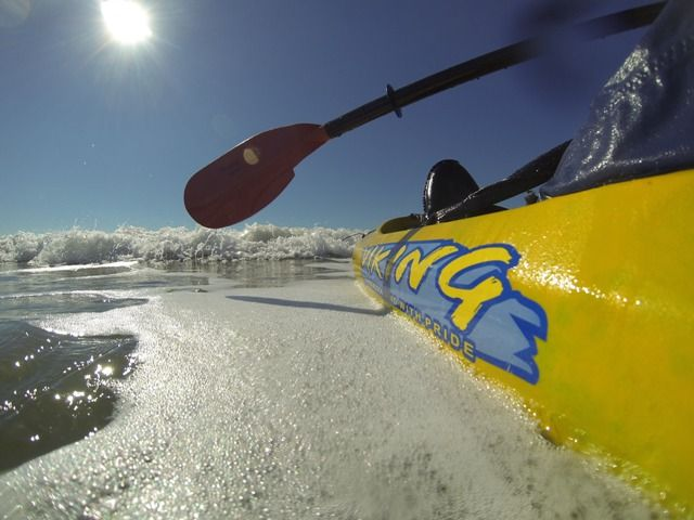 Ocean Kayak - An ultimate thrill http://www.vikingkayaks.co.nz/