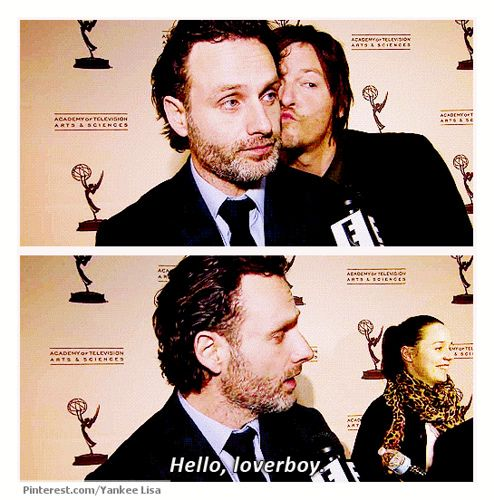 Daryl Dixon - Norman Reedus & Rick Grimes- Andrew Lincoln, The Walking Dead