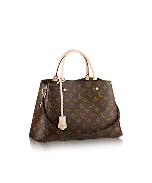 Discover Louis Vuitton Montaigne MM via Louis Vuitton