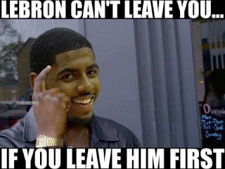Kyrie Irving Memes - Top 10  The 10 funniest Kyrie Irving memes are provided in this article. It looks like the Golden State Warriors will definitely be winning the 2017-18 NBA Championship. The Cleveland Cavaliers are having a horrible offseason. Despite winning a championship with the team Kyrie Irving has demanded a trade.  Kyrie doesn't want to play with LeBron James  One person that definitely can't be upset with Irving is LeBron James. He did the same thing when he decided to play for…