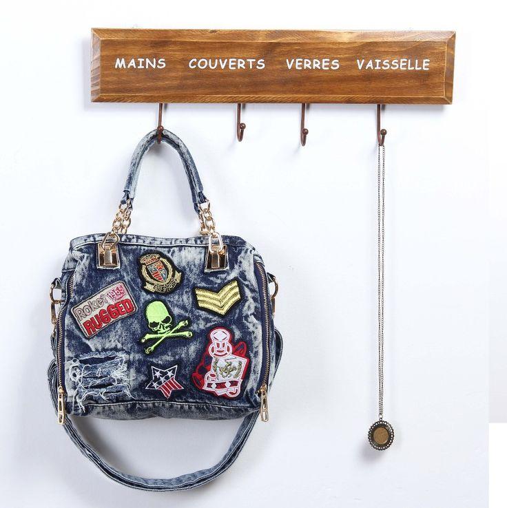 Aliexpress.com: Compre Mulheres azul Denim Designer bolsa de ombro reino unido sacos mulheres bolsa Bolsas mensageiro W184 de confiança saco de exibição fornecedores em My Style Fashion Bag Store