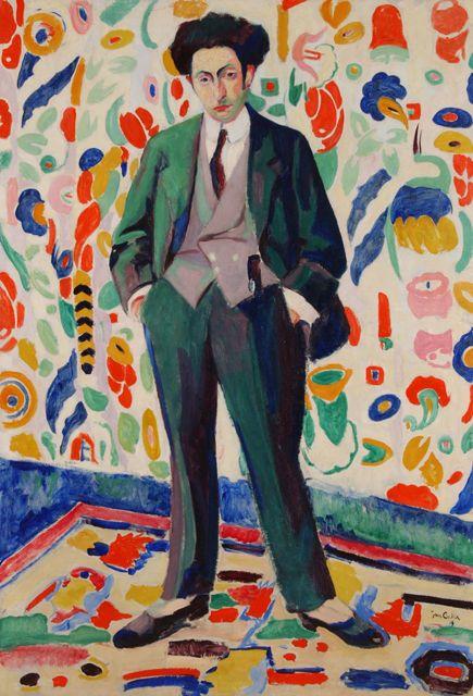 Jan Cockx: Portrait of Roger Avermaete, 1919.