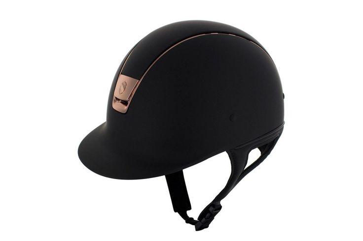 Pink rose samshield cap helmet equestrian horse hest paard style