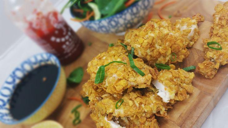 FODMAP Friendly crispy chicken! Yummy and healthy