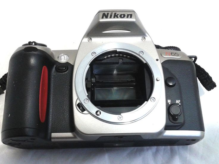 Nikon N65 Professional SLR 35mm Film Camera Body /Built In Flash NO LENS  #Nikon