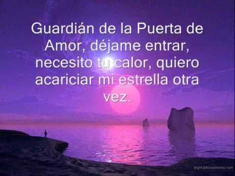 guardian de mi corazon letra - YouTube