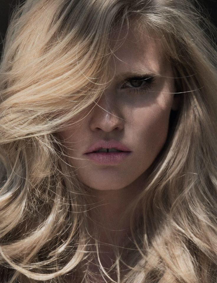 """Sexy Soft"" - Lara Stone photographed by Hans Feurer for Elle France June 27th, 2014"