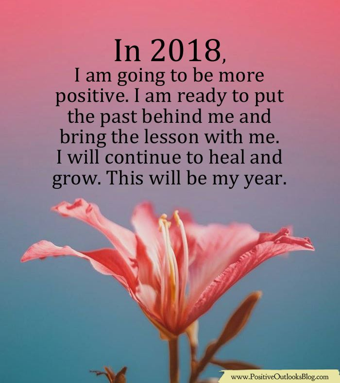 This Will Be My Year Positive Outlook Quotes Positivity