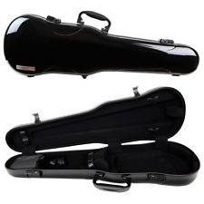 GEWA Air 1.7 Shaped Violin Case for 4/4 Full Size Violin Black Gloss