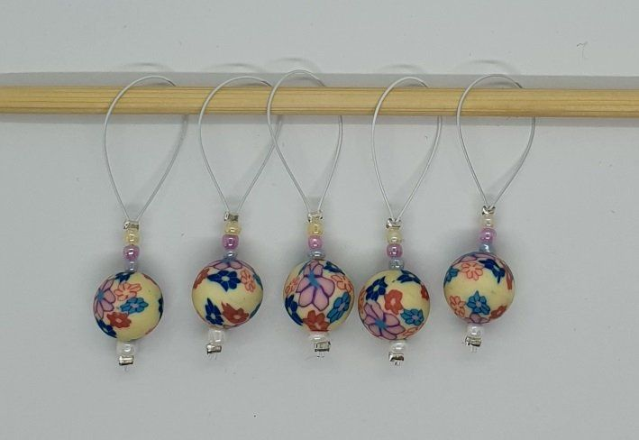 Progress Keepers Handmade Stitch markers for Crochet and Knitting