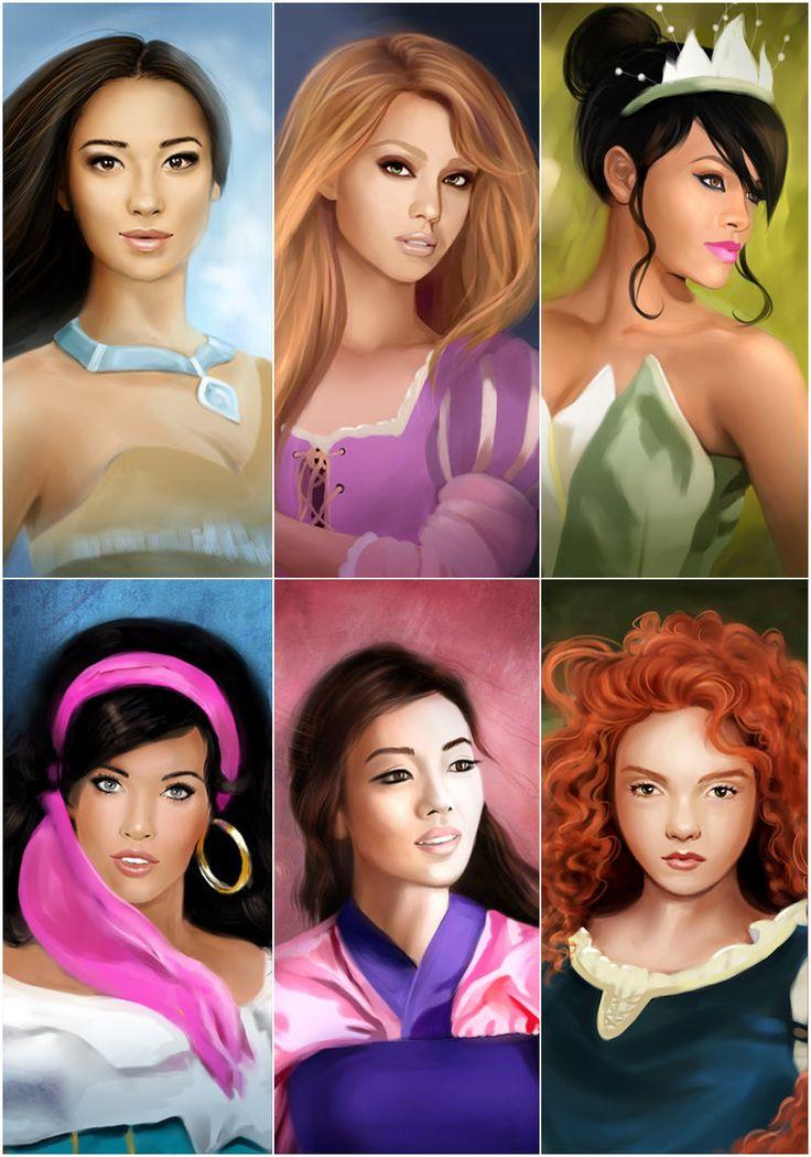 My Disney Princesses 2 by ~MartaDeWinter on deviantART