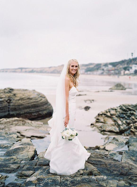 Elegant beach wedding by Michael Radford