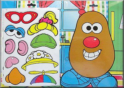 want to use mr potato head as math competition for practice problems... kids would love this as motivation! every problem they get correct they get to build a mr potato head man!
