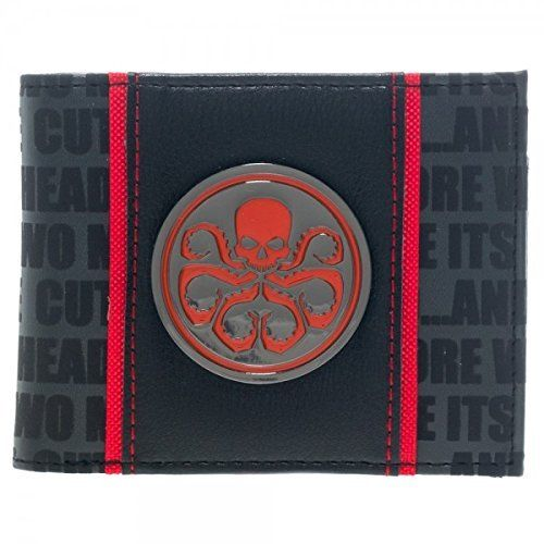 Avengers Hydra Metal Badge Bi-Fold Wallet [Ages... *** Want to know more, click on the image.