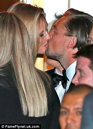 Leonardo DiCaprio marks Golden Globes win by indulging in a rare PDA with girlfriend Hayden Hartman
