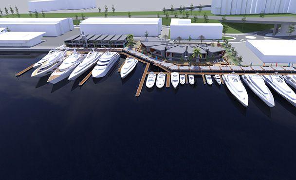 Scott Carver - Architecture and Design - Sydney Super Yacht Marina