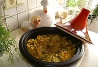 Tajine kippenboutfilet met rijst