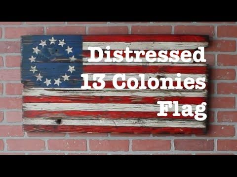 original 13 colonies flag