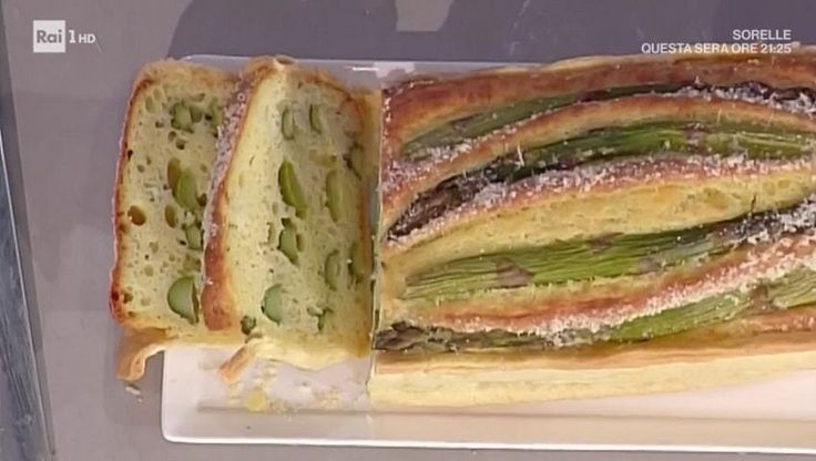 Ricette La prova del cuoco, Anna Moroni: torta picnic con asparagi - LaNostraTv