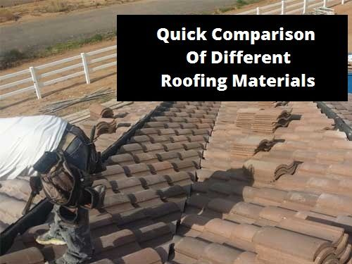 Top 25 ideas about roofing comparisons on pinterest for Different roofing materials