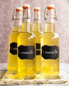 It has taken me far too long to discover how amazing — and how astoundingly easy — it is to make my own limoncello. I had this hazy idea that limoncello must be a closely guarded secret kept by a sect of weathered Italian grandfathers with wooly driving caps and secretive, knowing smiles. Just me? Well, it turns out all you need to make truly incredible limoncello are some good lemons, a bottle of stiff vodka, and just a little patience.