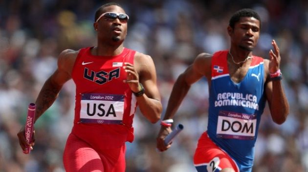 """U.S. Track Runner, Manteo Mitchell, Became The Most Inspirational Story Of The Olympics After Running 200 Meters With A Broken Leg: In a feat of supernatural courage that could make even a virtual Greg Jennings jealous, U.S. 4x400m relay lead-off man Manteo Mitchell """"put the team on his back"""" Thursday afternoon by finishing his split of the relay even though he broke his leg halfway through his run."""