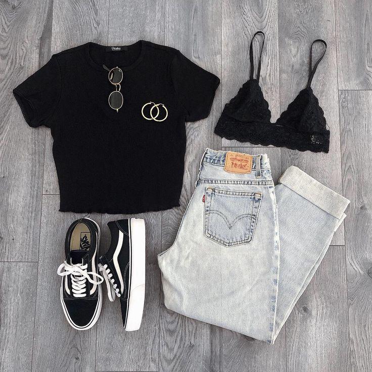 Monica Black Crop Top – Details – Size Guide – Mod…