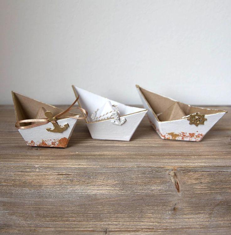 ringkissen alternative maritim boot schiff faltschiff f r eure hochzeit ringkissen. Black Bedroom Furniture Sets. Home Design Ideas
