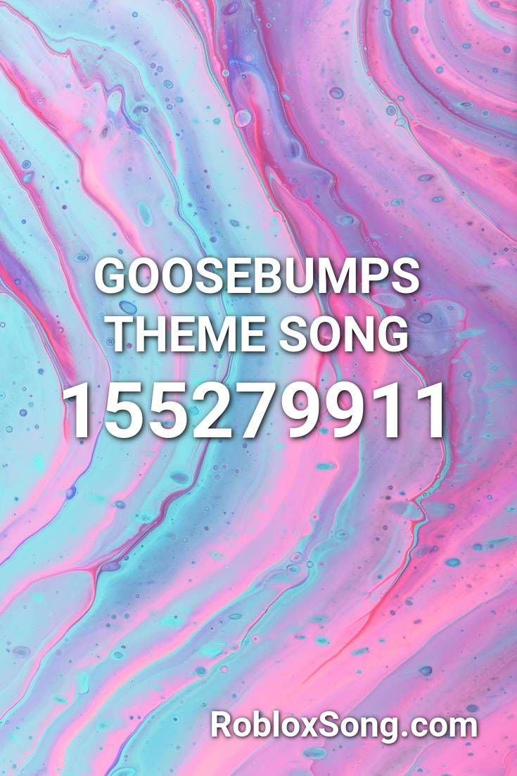 Goosebumps Theme Song Roblox Id Roblox Music Codes In 2020 With