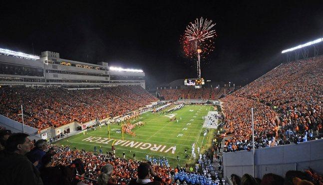 Lane Stadium - Virginia Tech