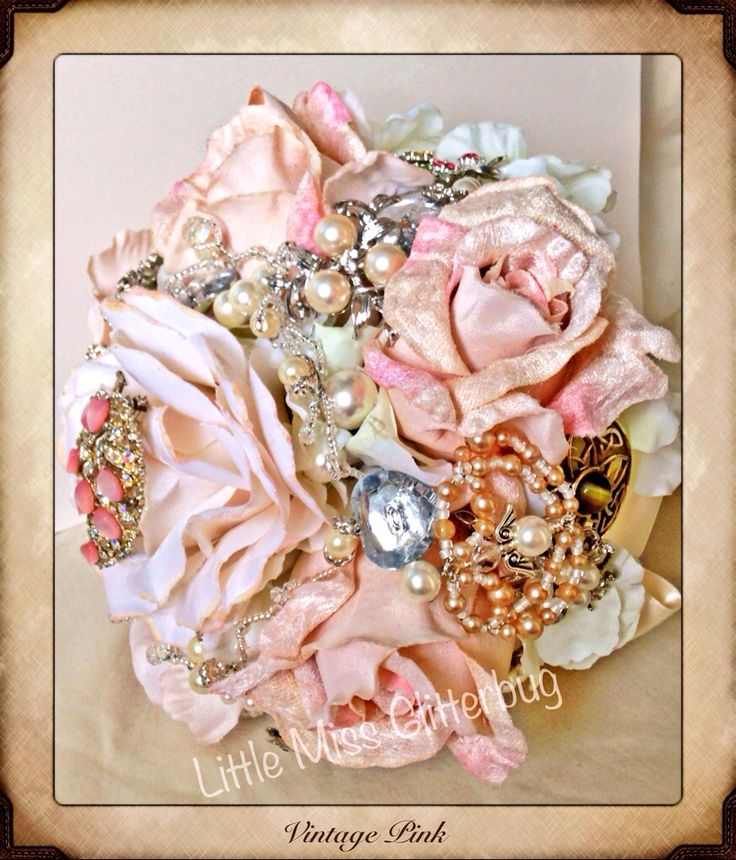 Vintage Pink heirloom bouquet