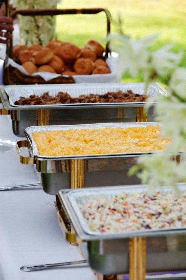 Top 15 Bbq Reception Ideas For Backyard Weddings Emmalovesweddings Backyard Wedding Food Reception Food Barbeque Wedding