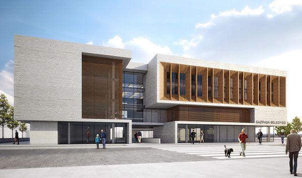 Antalya Gazipasa Municipality Building Competition on Behance