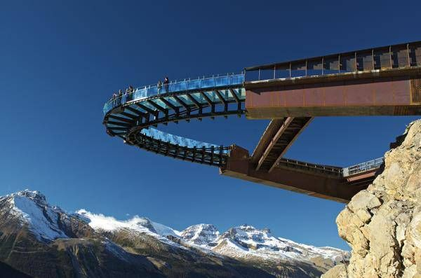 Canada's Glacier Skywalk is clearly fabulous