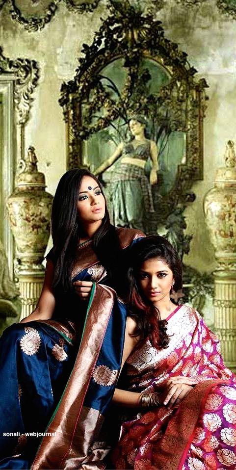 Handwoven Banarasi Silk