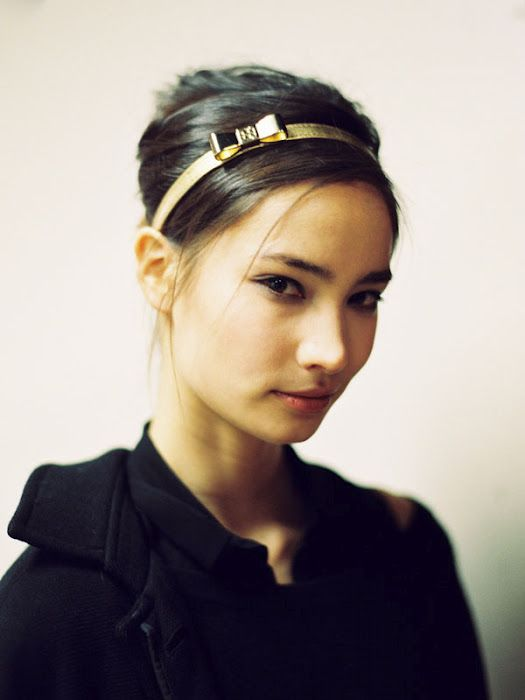 headband bows: Fashion Weeks, Gold Headbands, Tory Burch, Hairstyle, Beauty, Accessories, Toryburch, Bow Headbands