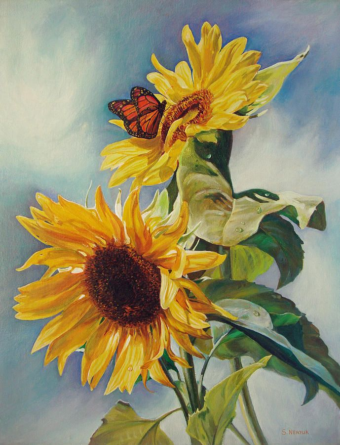 Summer Painting  - Summer Fine Art Print
