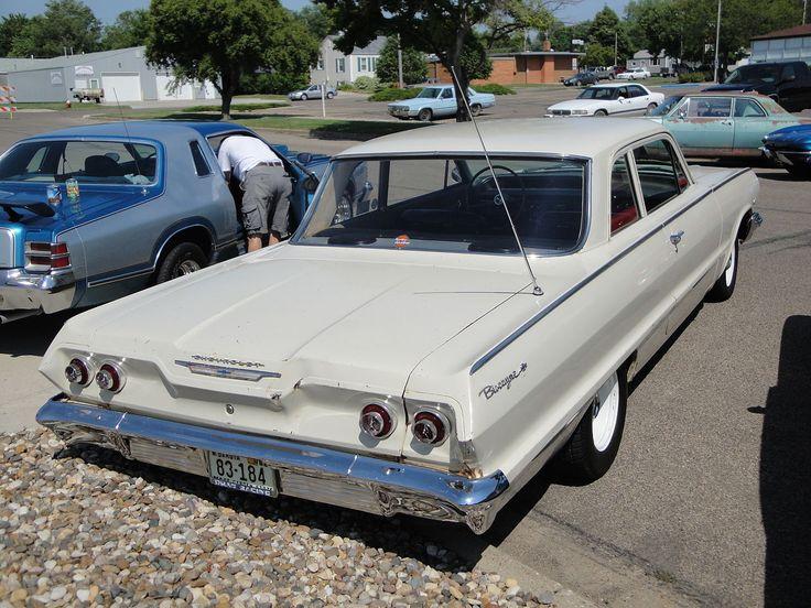 1963 - Chevrolet Biscayne - 2 - rear side