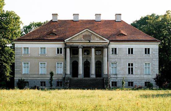Sierniki, Radoliński's Palace 1786-89, J. Ch. Kamsetzer
