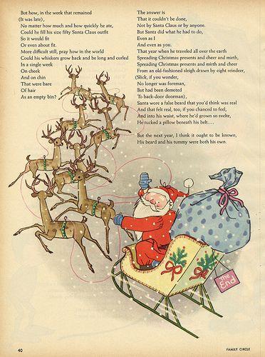 The Year Santa Went a Modern by Richard Armour, illustrated by Gyo Fujikawa. Family Circle, December 1963.