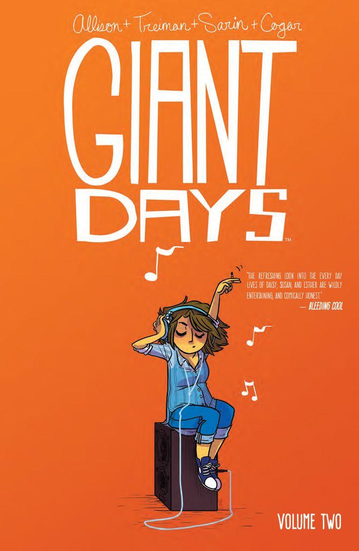 Preview: Giant Days Vol. 2, Story: John Allison Art: Lissa Treiman & Max Sarin Cover: Lissa Treiman Publisher: BOOM! Studios/BOOM! Box Publication Date: April 6th, 2016 ...,  #All-Comic #All-ComicPreviews #BOOM!Box #Boom!Studios #Comics #GiantDays #JohnAllison #LissaTreiman #MaxSarin #previews