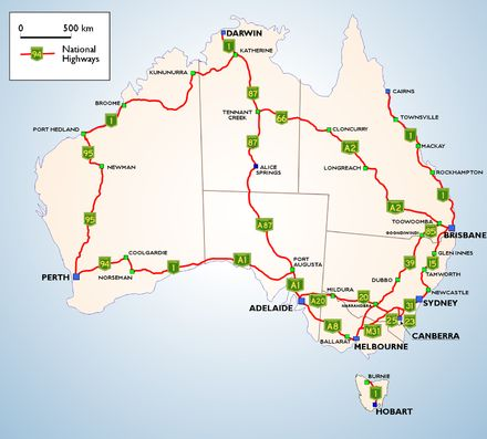 Best Australia Images On Pinterest Map Of Australia - Australian road maps free