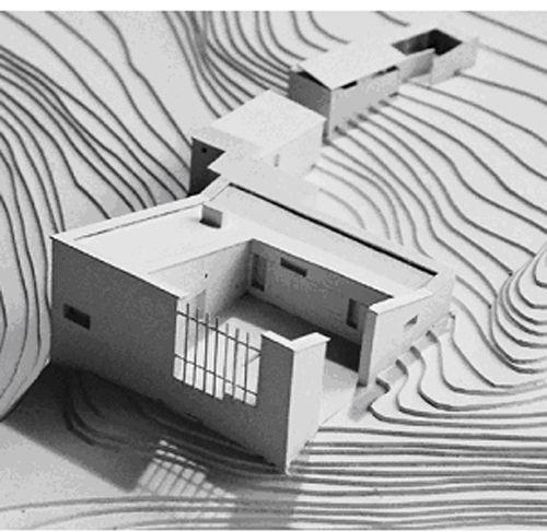 2 ALVAR AALTO LA CASA EXPERIMENTAL DE MUURATSALO STEPIENYBARNO, architectural model