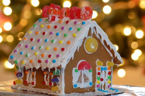 I really want to make a gingerbread house.