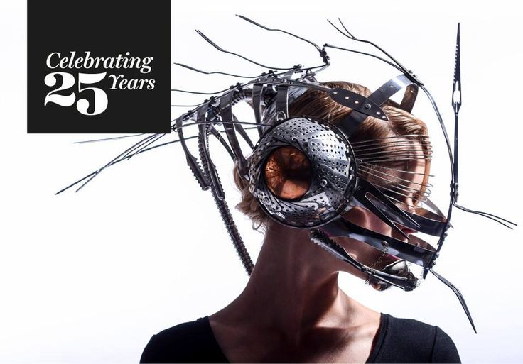 "Mark Crocker's 1997 sci-fi inspired entry, ""Shopping with a Vengeance"", made entirely of recycled kitchen utensils and fittings. It's still a masterpiece 16 years later and one of Dame Suzie Moncrieff's personal favourites."
