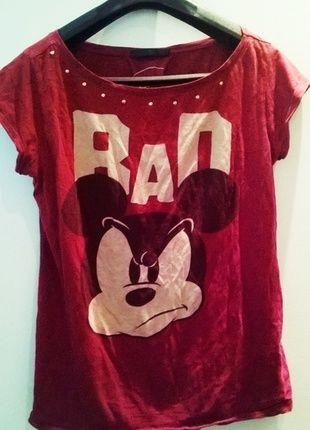 Kup mój przedmiot na #Vinted http://www.vinted.pl/kobiety/koszulki-z-krotkim-rekawem-t-shirty/9004784-bordowa-bluzeczka-bad-sinsay