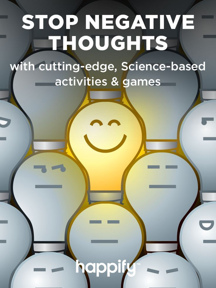 Stop Negative Thoughts and Feel Happier Every Day with Fun