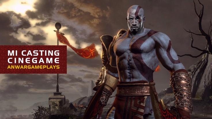 """Dwayne Johnson """"The Rock"""" como Kratos (God of War)"""