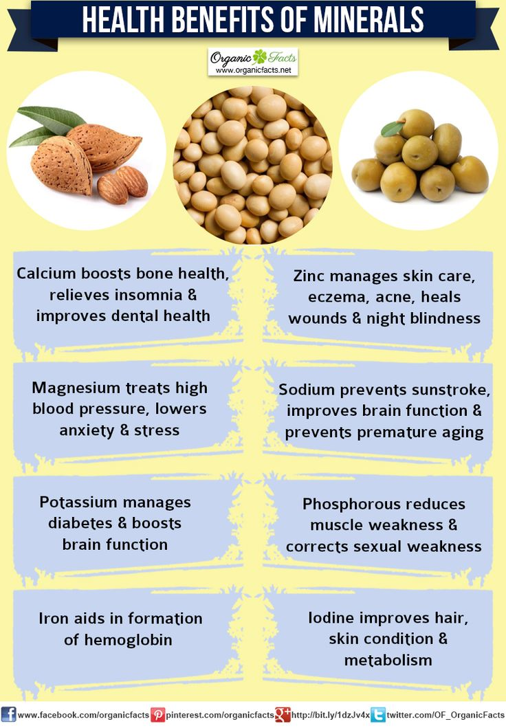The important minerals for body growth