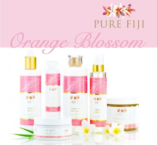 Orange blossom opens with the happy sparkle of tropical orange trees in full bloom, a zesty floral bursting with sunshine on a warm breeze.